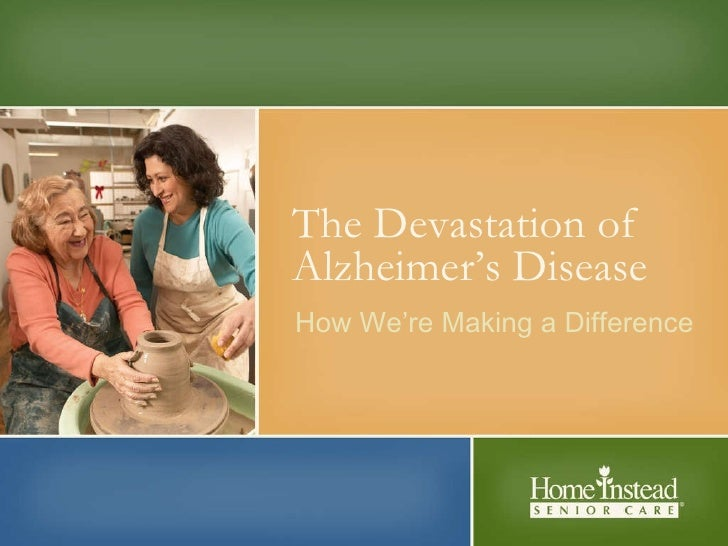 The Devastation of Alzheimer's Disease How We're Making a Difference