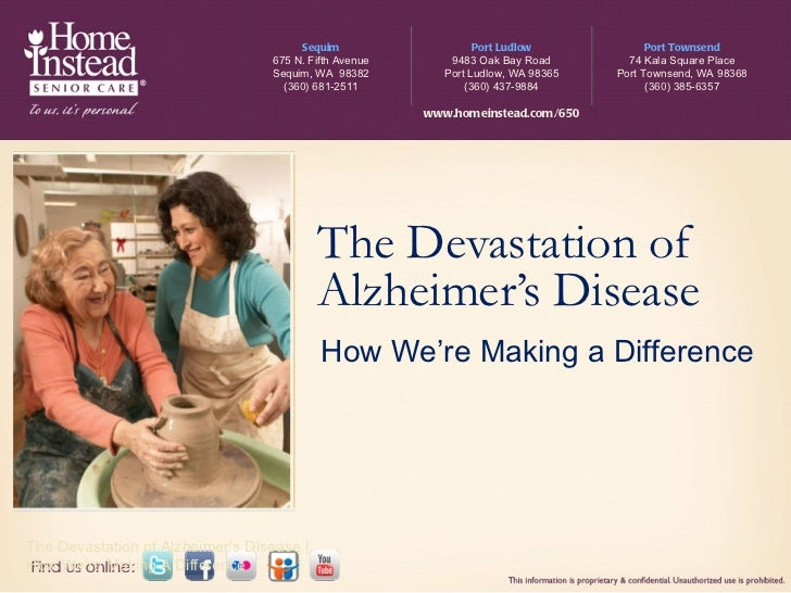 The Devastation of Alzheimer's Disease The Devastation of Alzheimer's Disease | How We're Making A Difference How We're Ma...