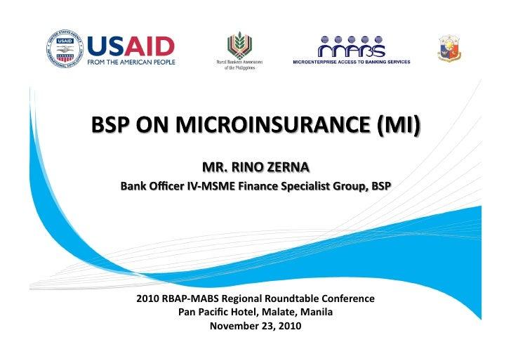 2010RBAP‐MABSRegionalRoundtableConference        PanPacificHotel,Malate,Manila              November23,2010