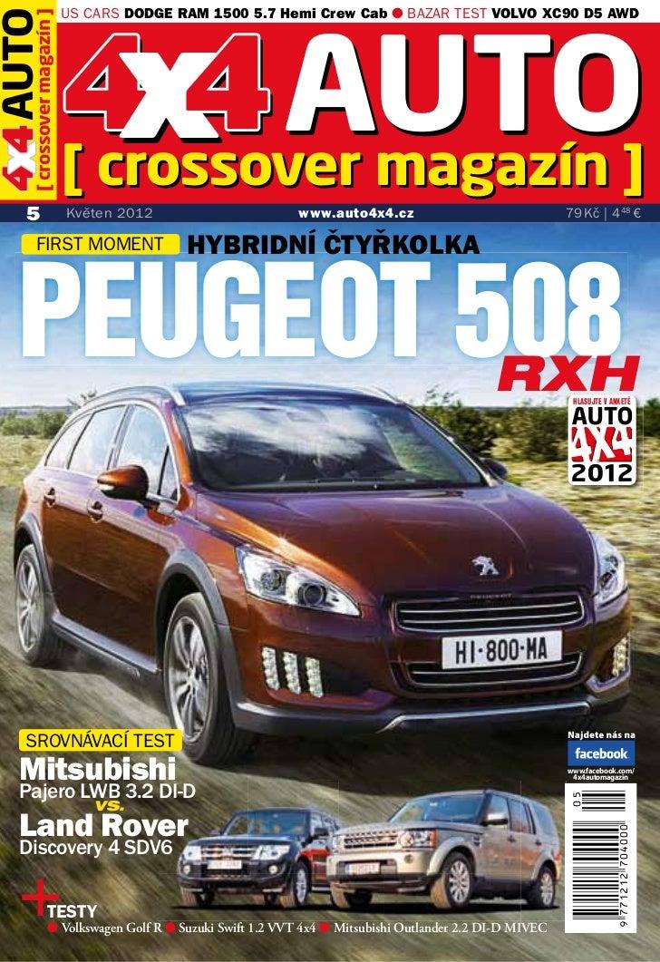 x magazín                        4 4AUTO]                        US CARS DODGE RAM 1500 5.7 Hemi Crew Cab ● BAZAR TEST VOL...