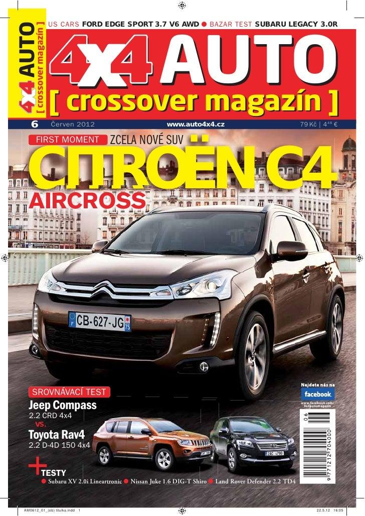 US CARS FORD EDGE SPORT 3.7 V6 AWD ● BAZAR TEST SUBARU LEGACY 3.0R4 4 AUTO[ crossover magazín ]                           ...