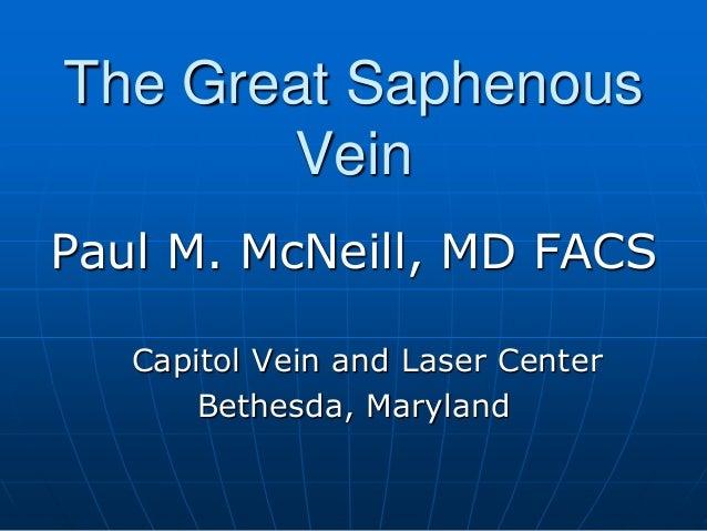 The Great Saphenous Vein Slide 2
