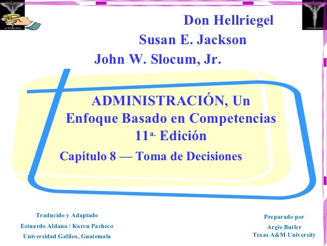 Don Hellriegel                              Susan E. Jackson                        John W. Slocum, Jr.                 AD...