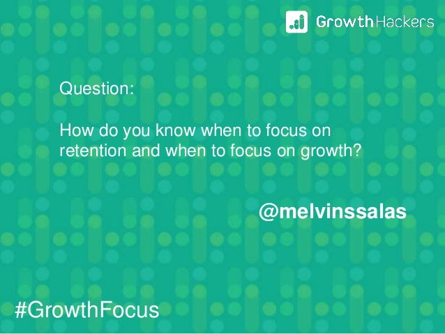 @_alexgu So you have lots of experience on growth, what are the most common mistakes startups make on growth? @melvinssala...