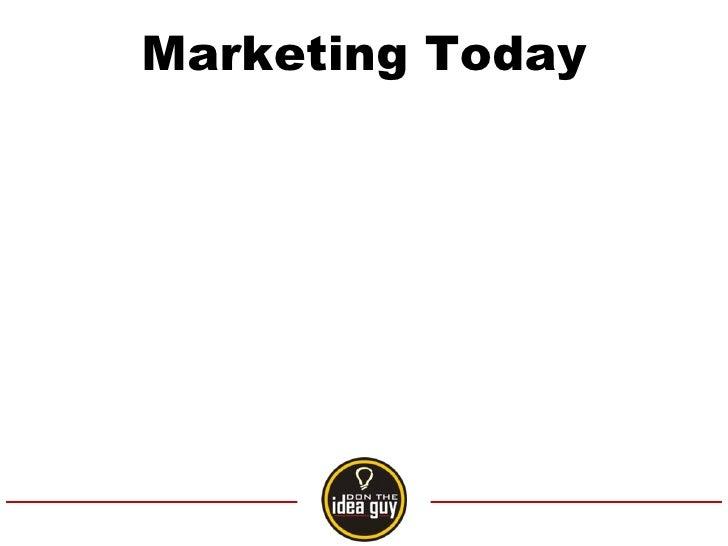 Marketing Today