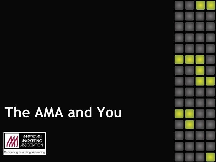 The AMA and You