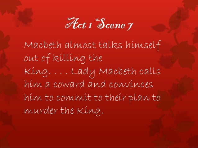 macbeth act 5 summary Macbeth plot summary act 1-5 by:jack fry thunder and lightining three witches appear out of the storm they make plans to meet again upon the heath, after the battle, to meet macbeth.