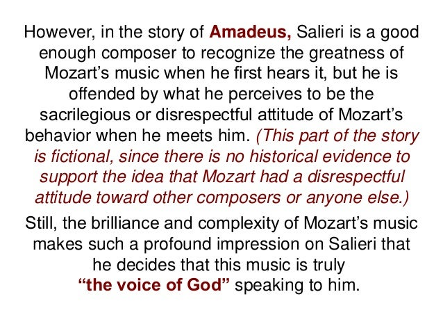 Please help me with the questions about Amadeus!!!?