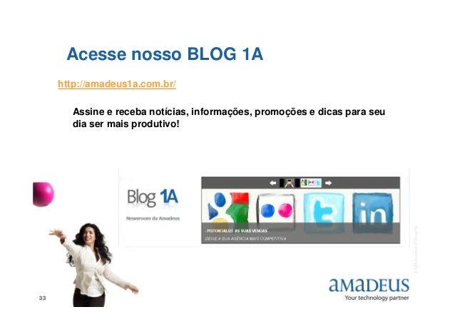 Acesse nosso BLOG 1A http://amadeus1a.com.br/ Assine e receba notícias, informações, promoções e dicas para seu dia ser ma...