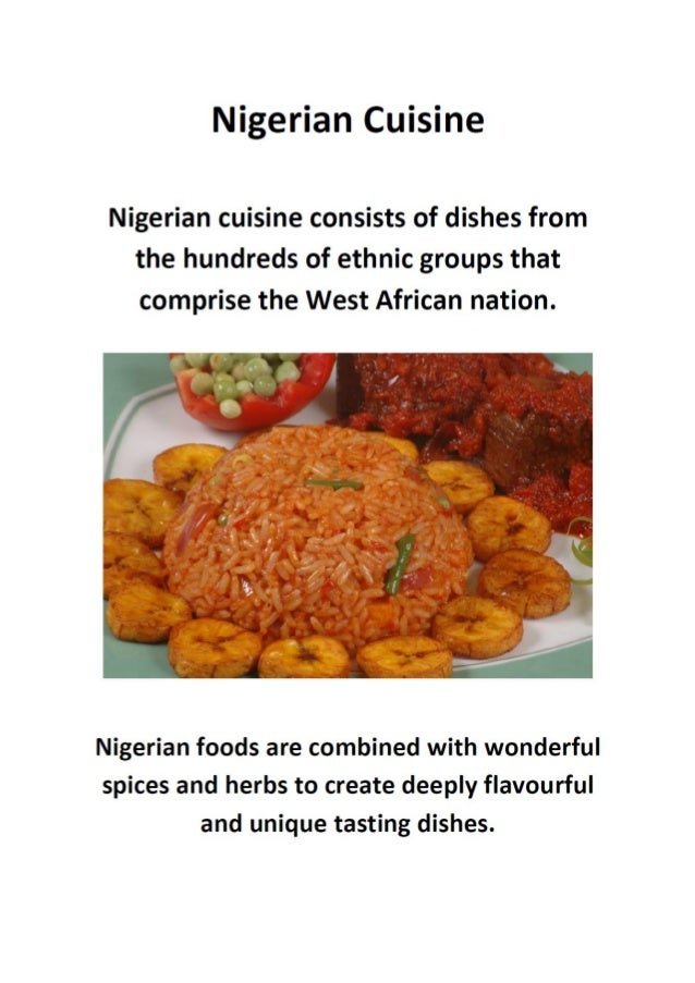 Nigerian cuisine read more about nigerian cuisine here forumfinder Gallery