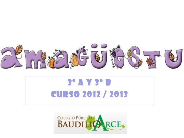 3º A y 3º BCurso 2012 / 2013