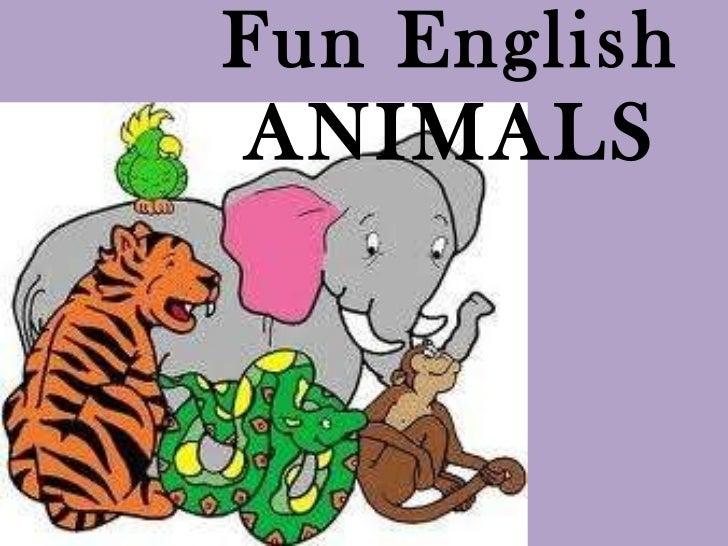 Fun English ANIMALS