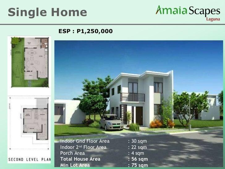 Amaia single detached house model