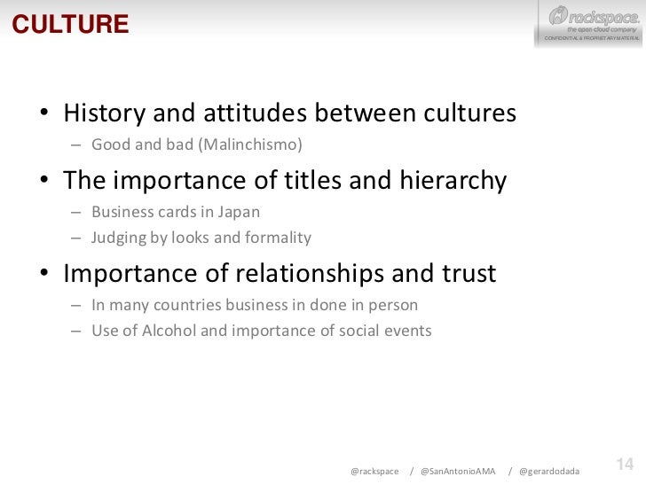 importance of culture for business expansion View notes - importance of culture for business and disney expansion from bmo 1102 at victoria au conducting business on a global basis requires a good understanding.