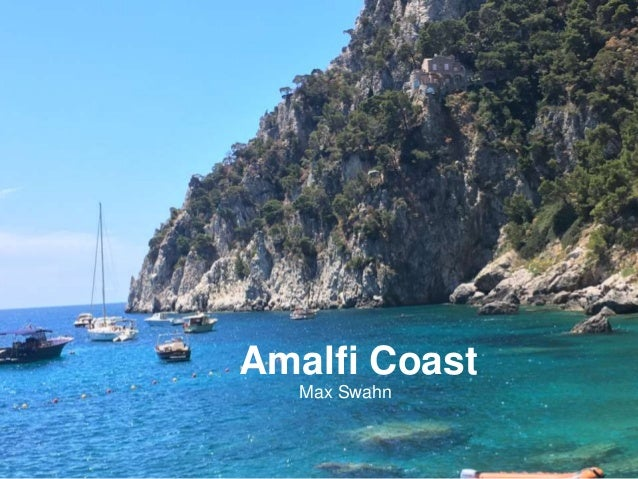 Amalfi Coast Max Swahn