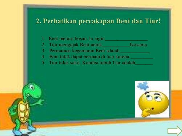 Pembelajaran Tematik Kelas 2 Sd Tema 2 Bermain Di Lingkunganku Sub Te
