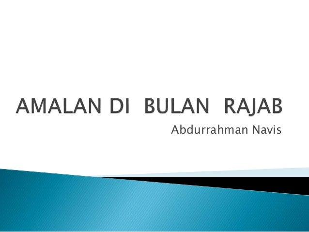 Abdurrahman Navis