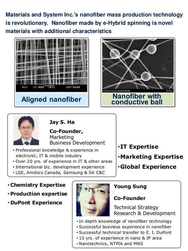 Amamizing application of nanofiber Slide 2