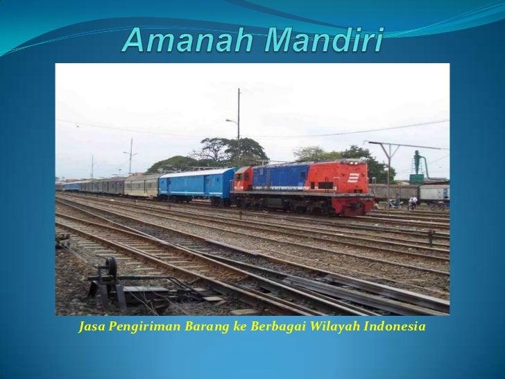 Amanah Mandiri<br />Jasa Pengiriman Barang ke Berbagai Wilayah Indonesia<br />
