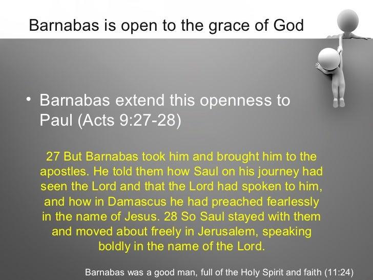 A man called Barnabas