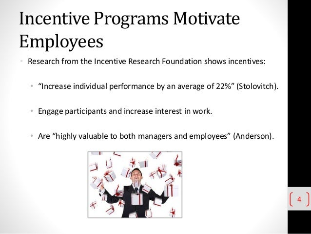 Research papers on employee incentive programs