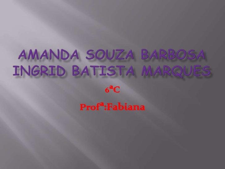 6ªCProfª:Fabiana