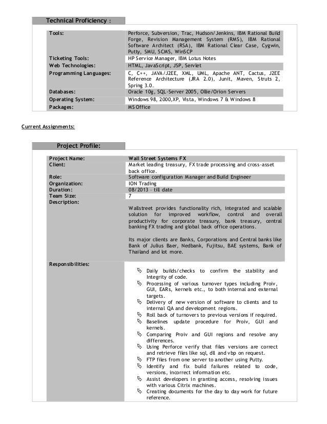 ... Engineer/Build Engineer; 2.  Build And Release Engineer Resume