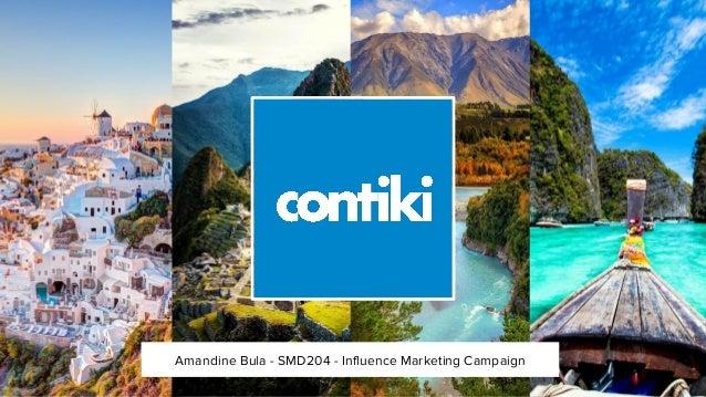 Amandine Bula - SMD204 - Influence Marketing Campaign