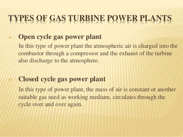 Disadvantages Of Natural Gas >> Basic Scheme Open Cycle Gas Turbine Plant