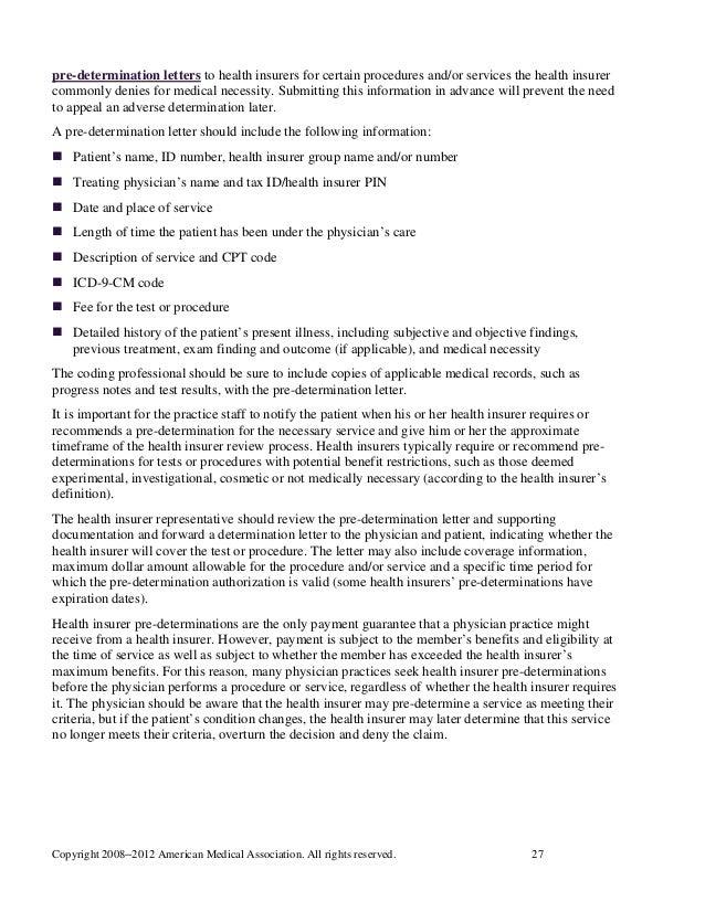 Medical Appeal Letters