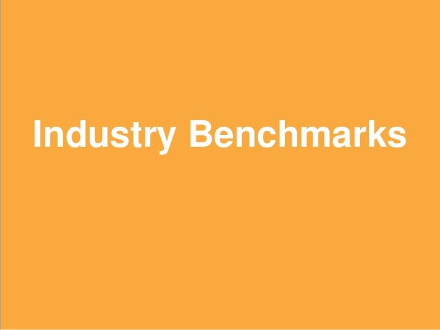 13 Industry Benchmarks