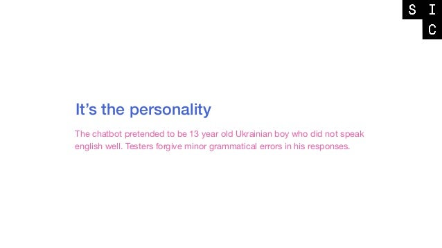 The fine balance of personality