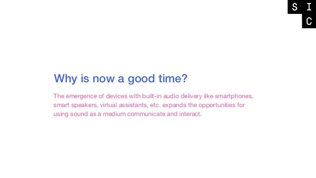_ Sound for Feedback _ Sound for Attention _ Sound for Identity _ Sound for Personality