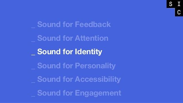 Listen closely Sound 3