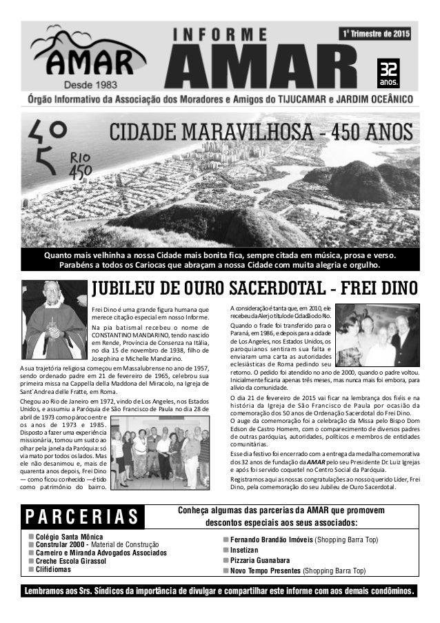 P A R C E R I A S Colégio Santa Mônica Constrular 2000 - Material de Construção Carneiro e Miranda Advogados Associados Cr...