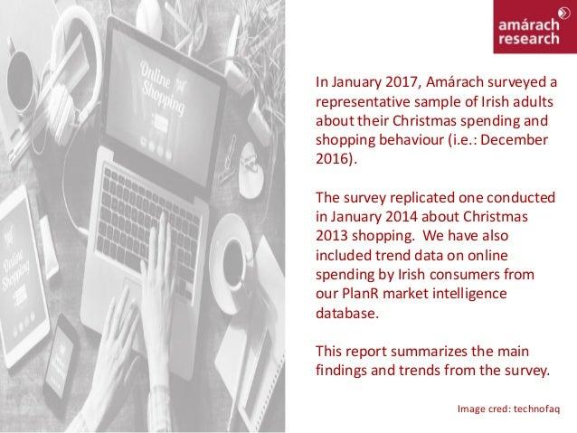 Christmas Online Shopping 2016 Report Slide 2