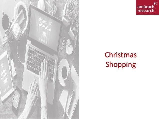 Christmas Online Shopping 2016 Report Slide 3