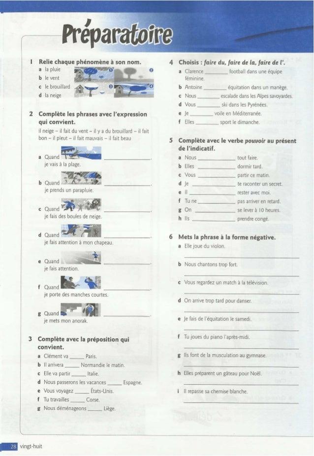 çAmarche 3º eso frances pearson   cahier d`activités - unité 4-5 d 9