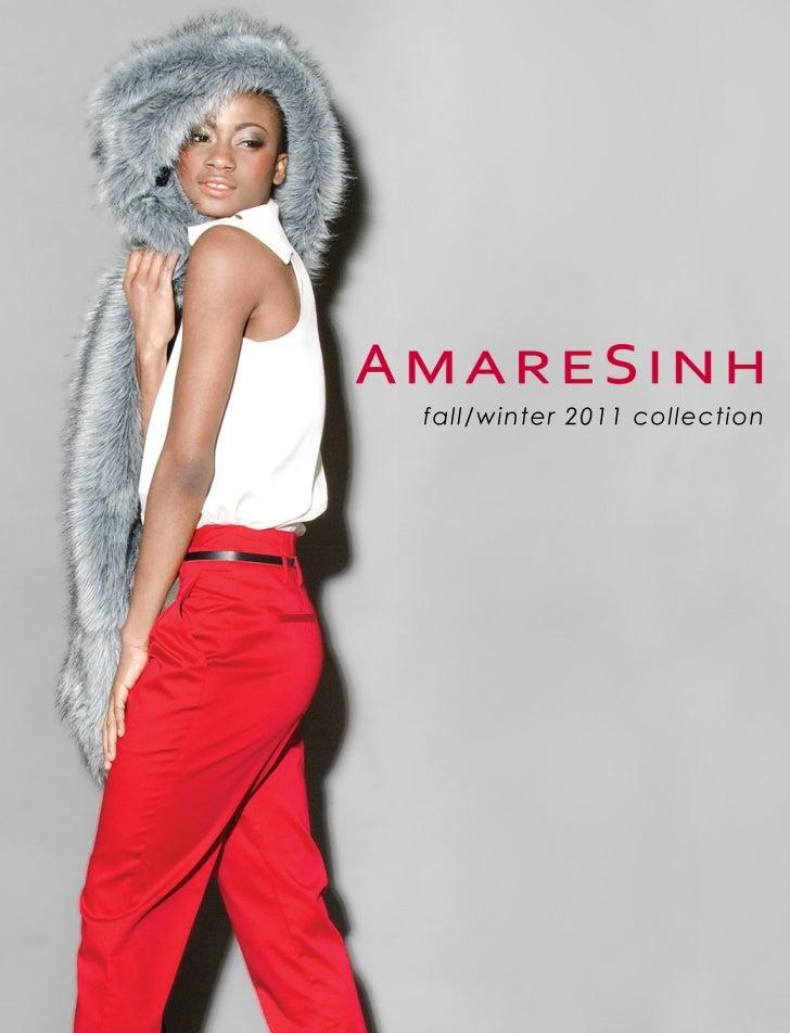 AmareSinh lookbook Fall Winter 2011