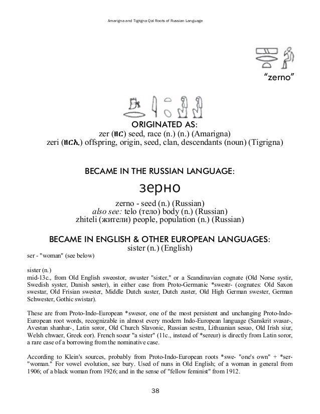 Examined Regular Russian Verbs