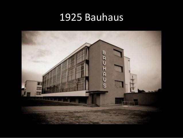 1925 Bauhaus