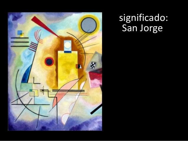 significado: San Jorge