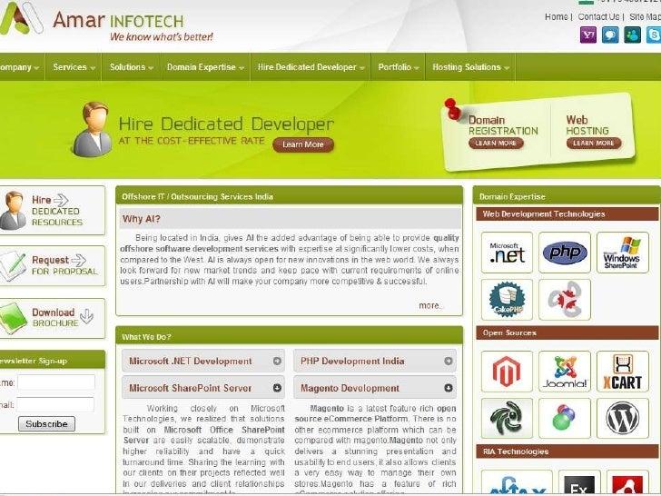 Amar Infotech Development portfolio
