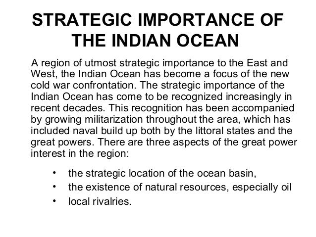 indian ocean region essay Here is your short essay on indian ocean  the surface salinity between the equatorial region and arab peninsula is more than 37%  this part of the indian ocean .
