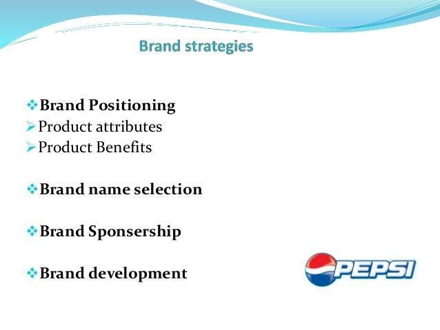 Pepsi marketing plan action strategy