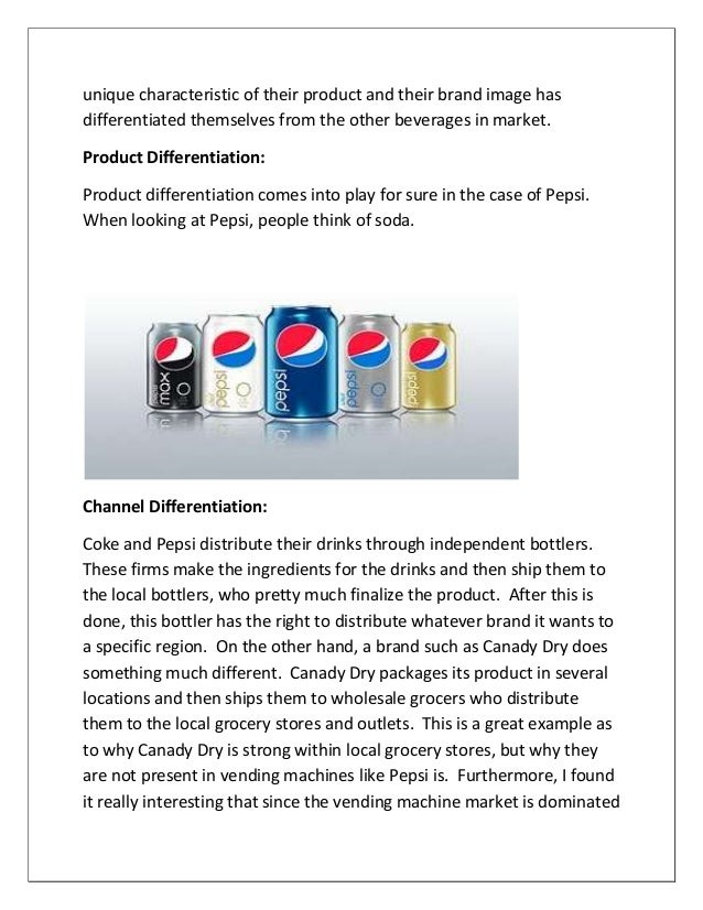 Marketing strategy of pepsi assaignment