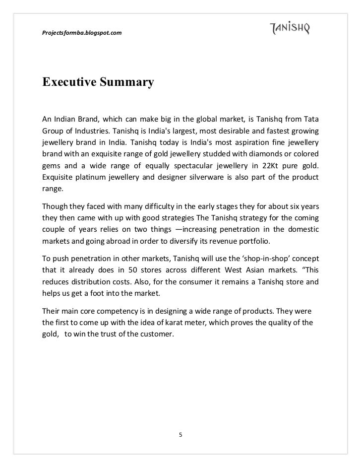 literature review of tanishq jewellery