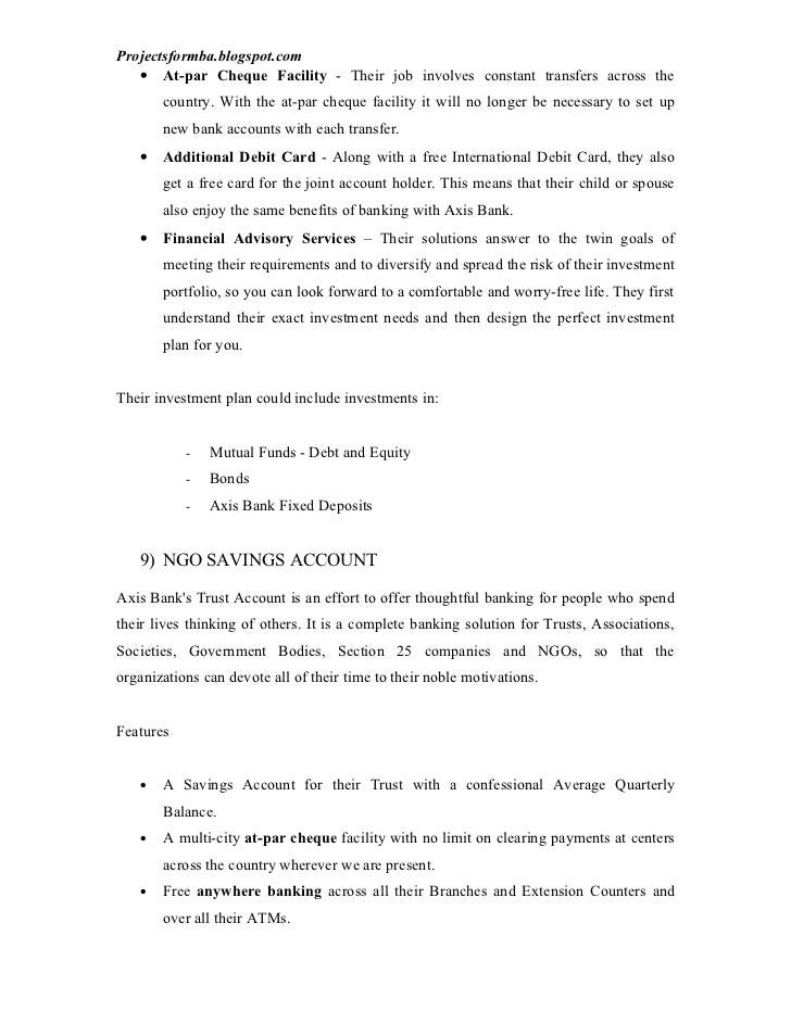 project on axis hdfc bank Project on comparative analysis of axis & hdfc bank vaishali agawane01 komal dabhi- 08 vaishali joshi- 21 ruhina khan- 27 devanshi mehta- 30 tejashri sawant- 43.