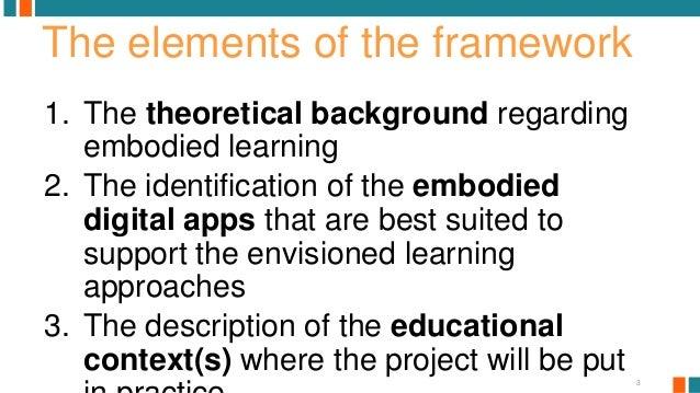 The INTELed pedagogical framework.  Slide 3