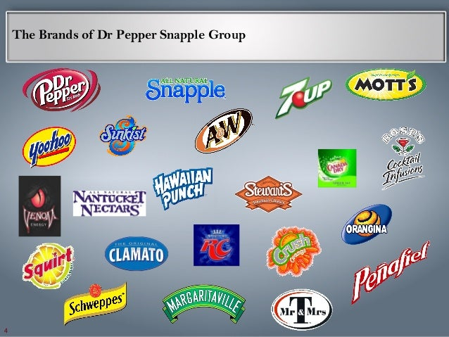 dr pepper snapple group Dr pepper snapple group, inc company research & investing information find executives and the latest company news.